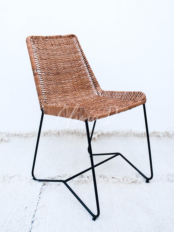 Silla matilde mimbre sillas for Sillas mimbre comedor