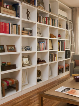 Biblioteca columbus bibliotecas - Escaleras para bibliotecas ...
